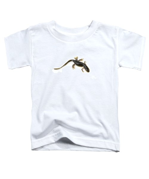 Mutated Eastern Newt Toddler T-Shirt by Lawrence Lawry