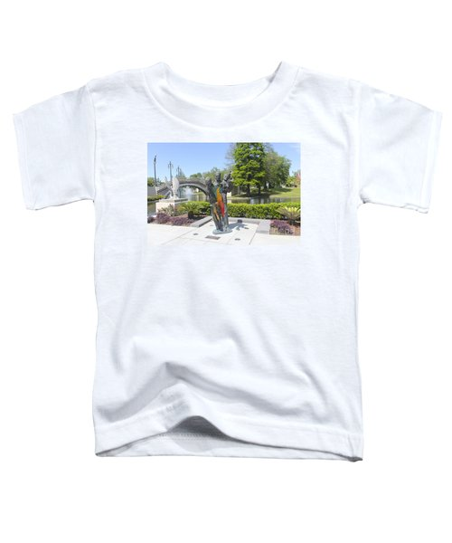 Jazz Music Sculpture In New Orleans 28b Toddler T-Shirt