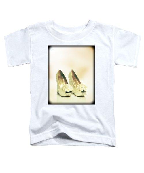 New Wedding Sandals Toddler T-Shirt