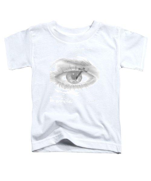 Plank In Eye Toddler T-Shirt