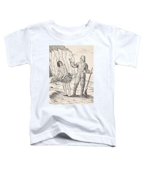 Robinson Crusoe And Friday Toddler T-Shirt
