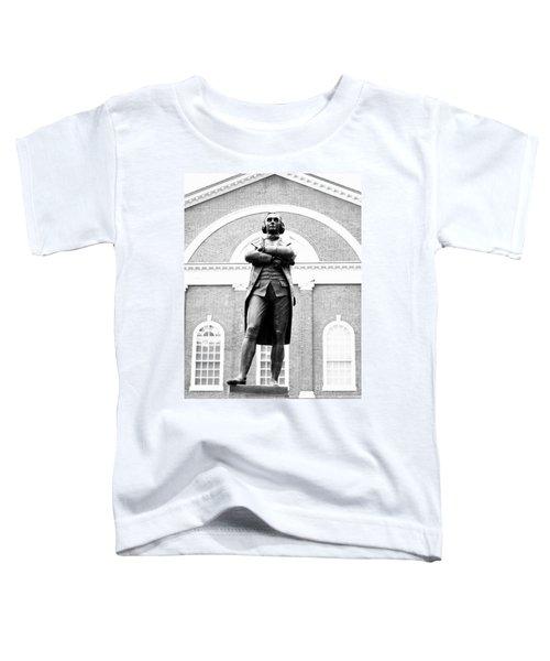 Samuel Adams Statue, State House Boston Ma Toddler T-Shirt