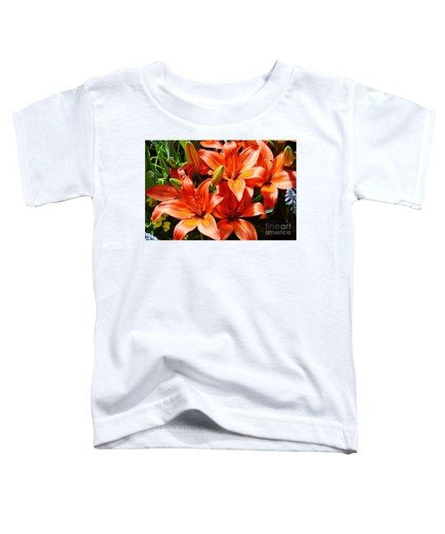 The Color Orange Toddler T-Shirt