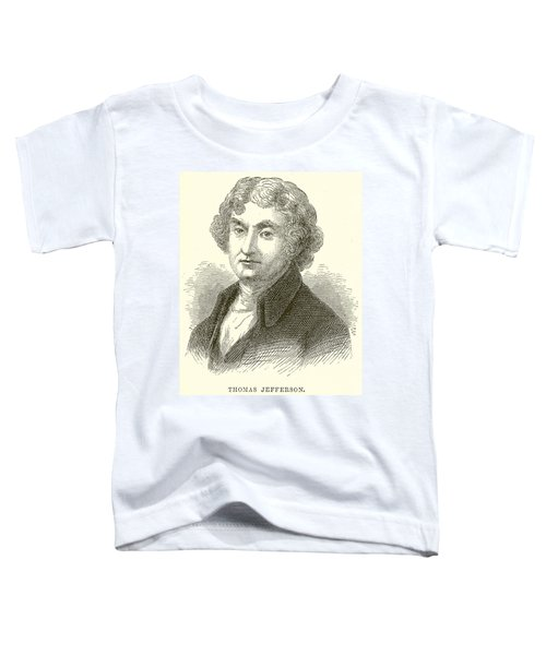 Thomas Jefferson Toddler T-Shirt