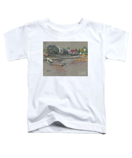 Train's Coming Toddler T-Shirt
