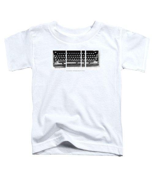 Vintage Typewriter Toddler T-Shirt