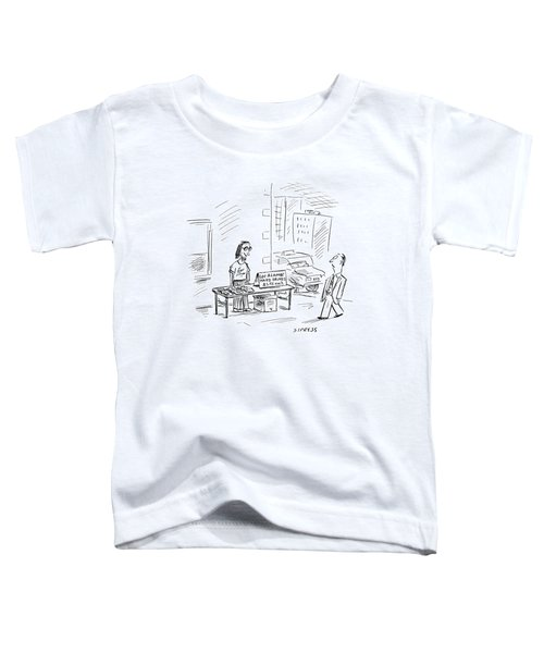 New Yorker July 3rd, 2000 Toddler T-Shirt