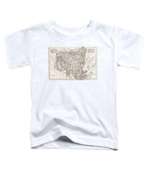 1780 Raynal And Bonne Map Of Asia Toddler T-Shirt