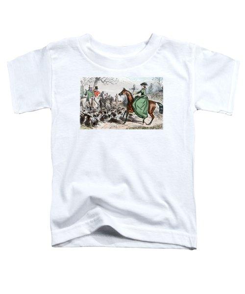 1800s Miss De Glancey Captivates Toddler T-Shirt