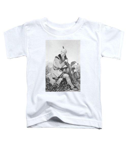 1810s Senior Daniel Boone Hunting Toddler T-Shirt