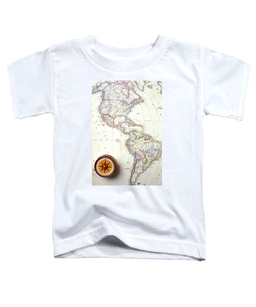 1868 Map Of America Toddler T-Shirt