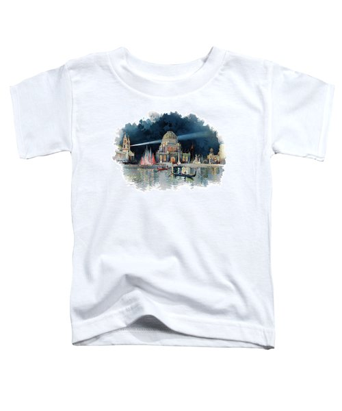 1890s Night In Grand Court Of World Toddler T-Shirt