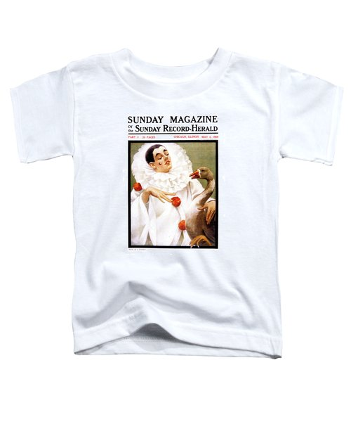 1900s Chicago Sunday Magazine Cover Toddler T-Shirt