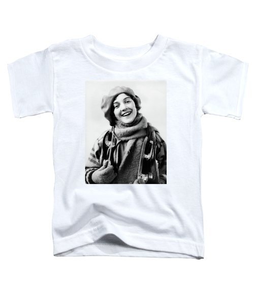 1920s 1930s Smiling Woman Dressed Toddler T-Shirt