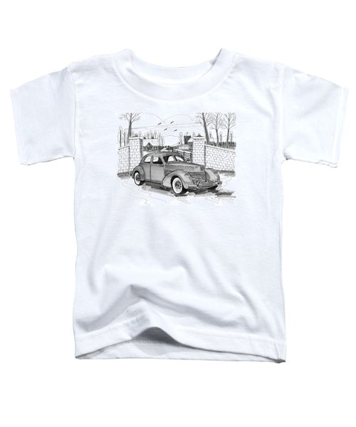 1937 Cord 812 Toddler T-Shirt