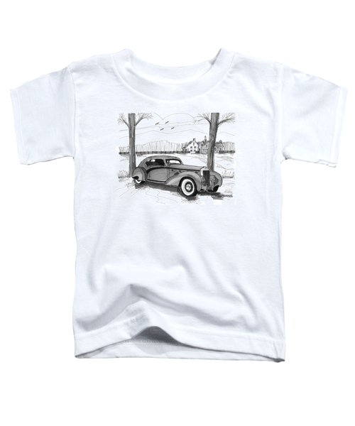 1937 Delage D8 120 Toddler T-Shirt