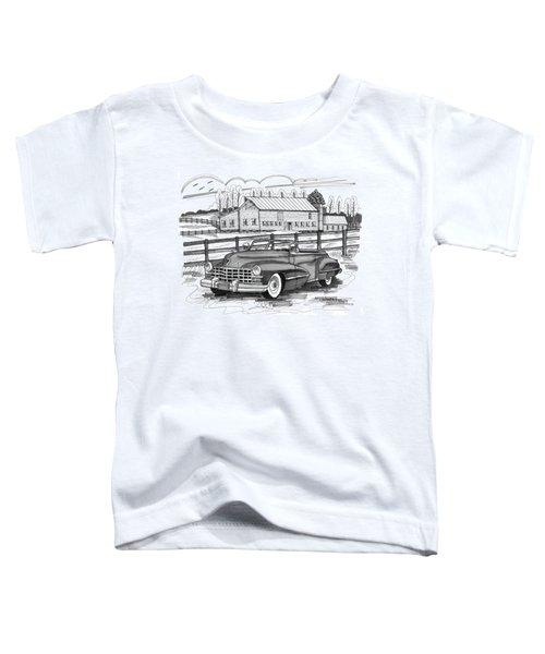 1947 Cadillac Model 52 Toddler T-Shirt