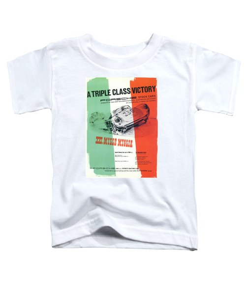 1954 Xxi Mille Miglia Toddler T-Shirt