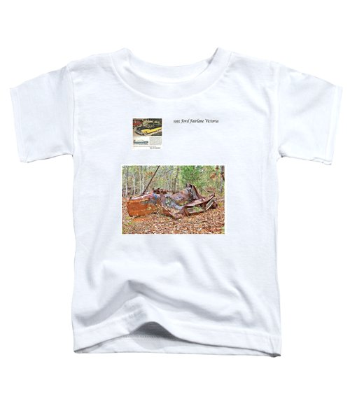 1955 Ford Fairlane Victoria Toddler T-Shirt