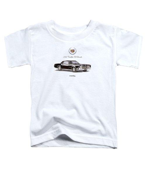 1967 Cadillac El Dorado Toddler T-Shirt