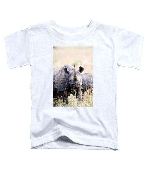 Black Rhinoceros Diceros Bicornis Toddler T-Shirt