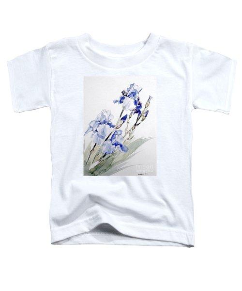 Blue Irises Toddler T-Shirt