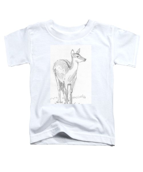 Deer Drawing  Toddler T-Shirt