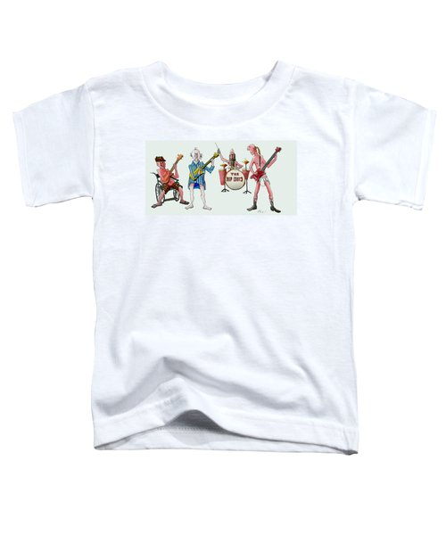 Sixties And Seventies Musicians Toddler T-Shirt