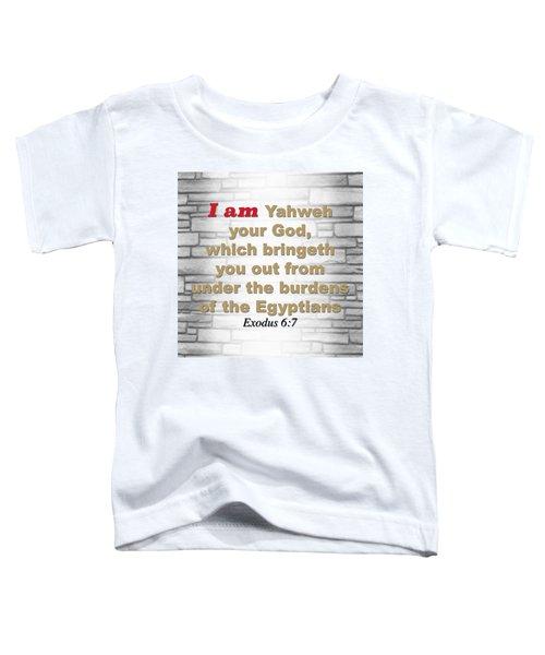 I Am Toddler T-Shirt