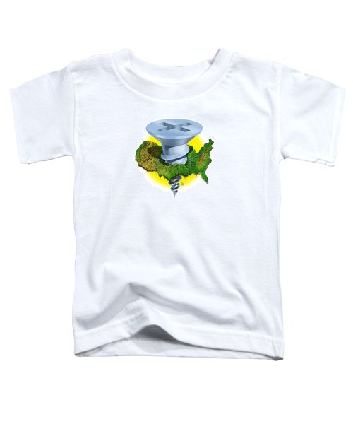 Screwed Toddler T-Shirt