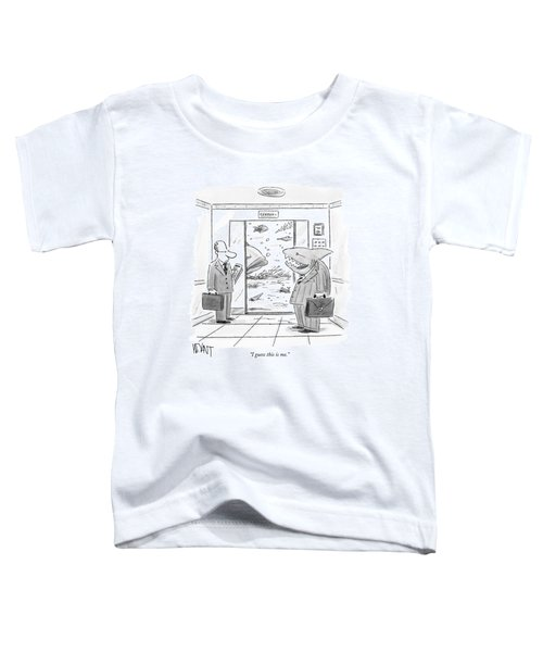 I Guess This Is Me Toddler T-Shirt