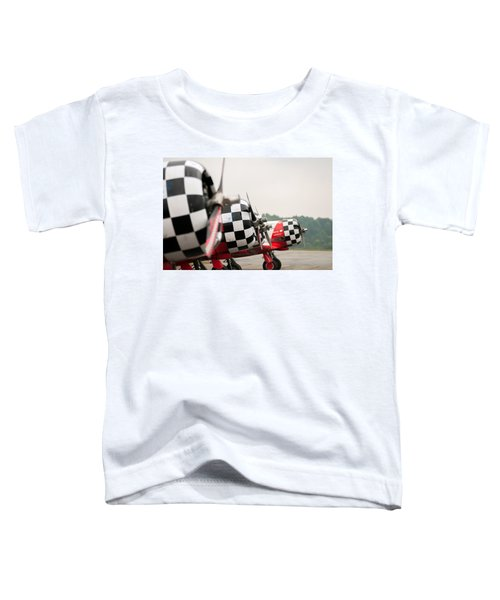 Airplanes At The Airshow Toddler T-Shirt
