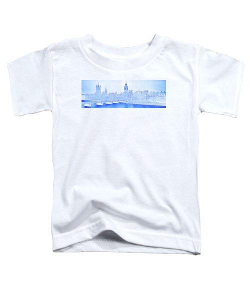 Arch Bridge Across A River, Westminster Toddler T-Shirt