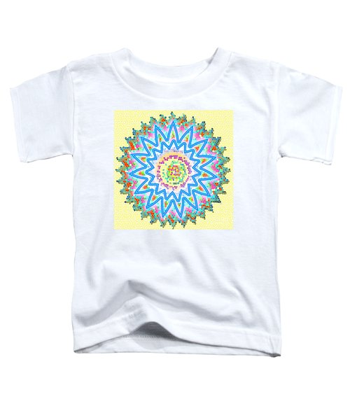 Colorful Signature Art Chakra Round Mandala By Navinjoshi At Fineartamerica.com Rare Fineart Images  Toddler T-Shirt