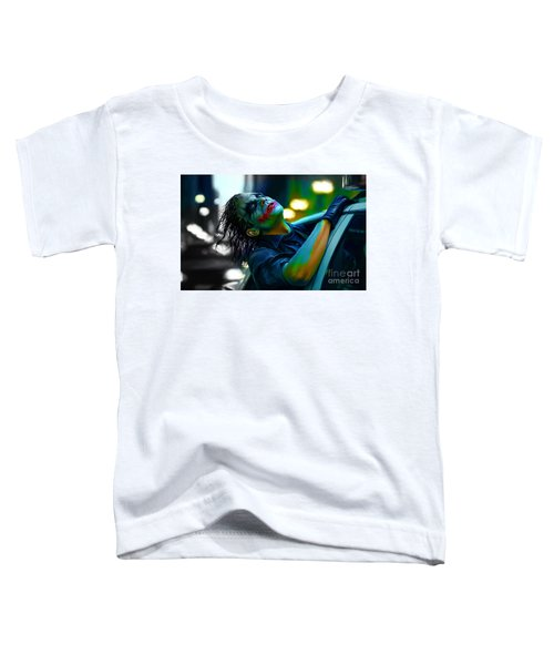 Heath Ledger Toddler T-Shirt by Marvin Blaine