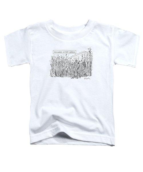 Declared Victory Garden Toddler T-Shirt