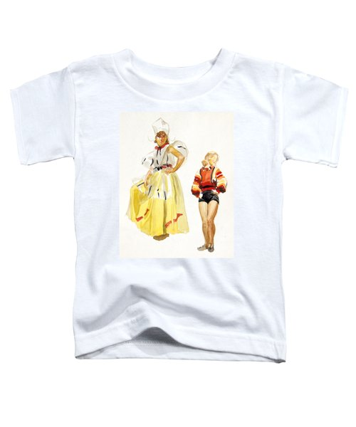 Swiss Miss Toddler T-Shirt