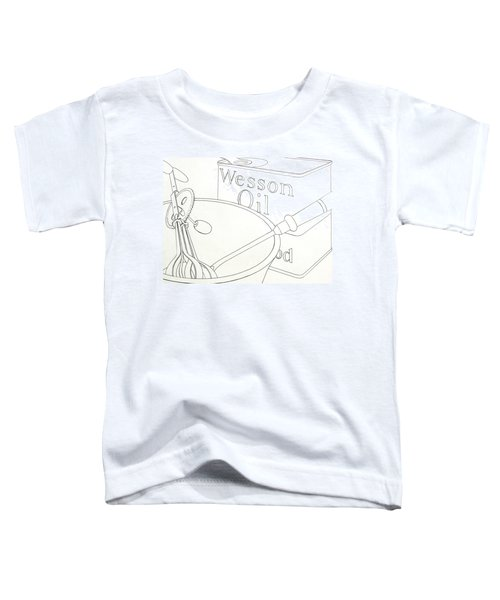 Wesson Oil Toddler T-Shirt
