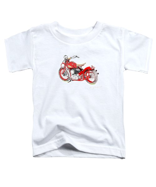 37 Chief Bobber Toddler T-Shirt
