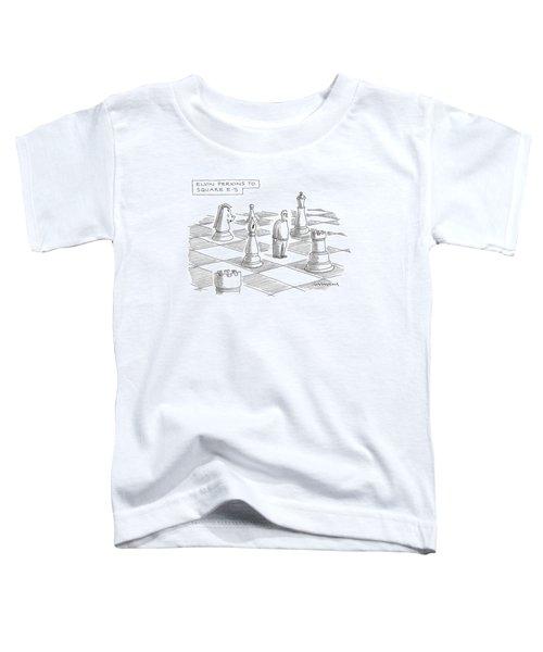 Elvin Perkins To Square E-5 Toddler T-Shirt