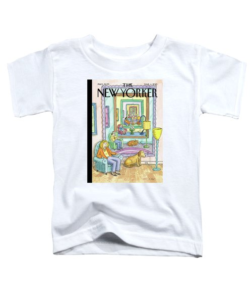 New Yorker March 4th, 2013 Toddler T-Shirt