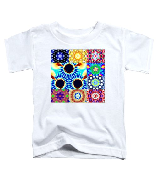432hz Cymatics Grid Toddler T-Shirt