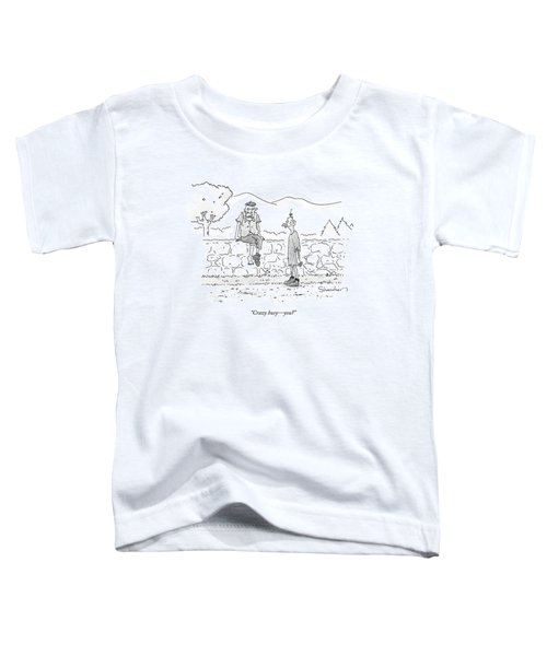 Crazy Busy - You? Toddler T-Shirt