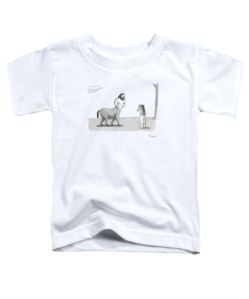 New Yorker September 7th, 2009 Toddler T-Shirt by Zachary Kanin