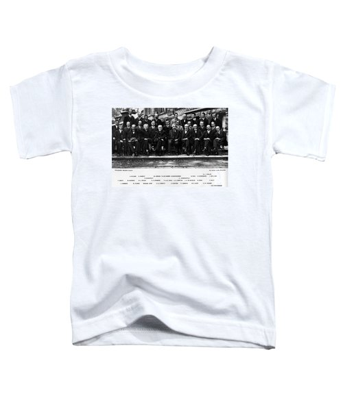 5th Solvay Conference Of 1927 Toddler T-Shirt
