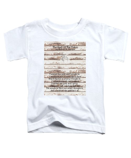 Spell Of Yukon Toddler T-Shirt