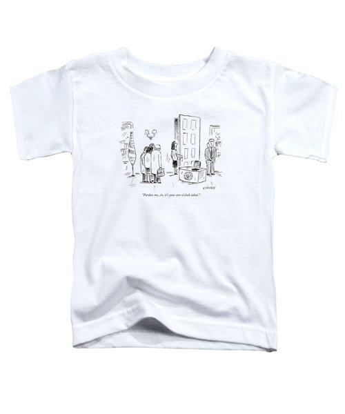 Pardon Me, Sir, It's Your Ten-o'clock Cabal Toddler T-Shirt