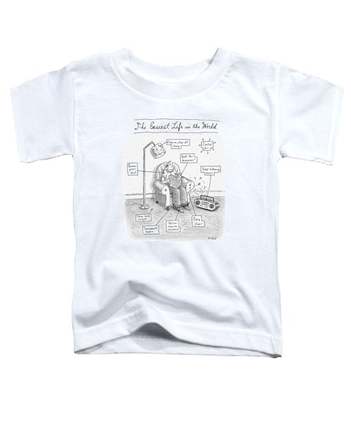 The Easiest Life In The World Toddler T-Shirt
