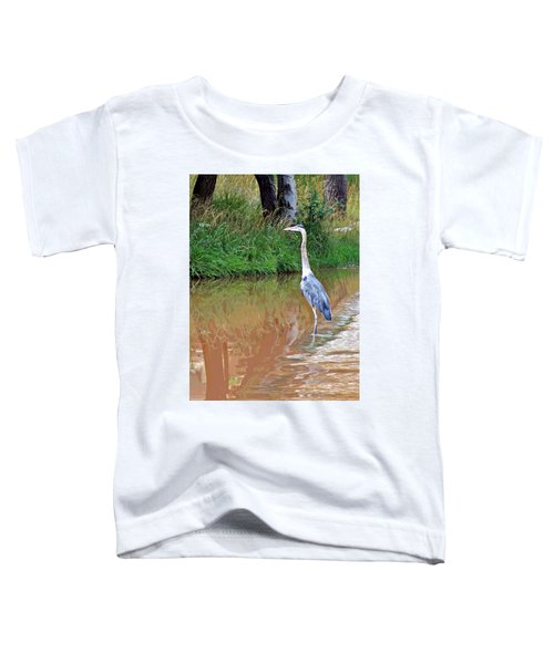 Blue Heron On The East Verde River Toddler T-Shirt