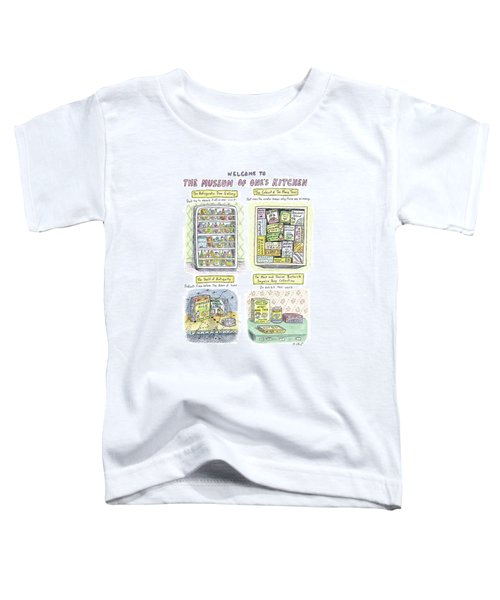 New Yorker August 13th, 2007 Toddler T-Shirt